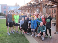 Seahome High School runners