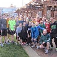 Seahome High School runners