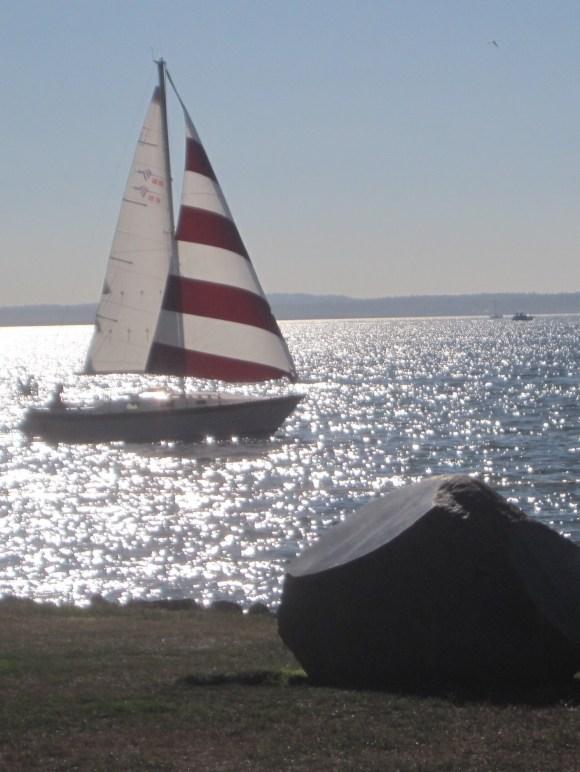 Peppermint Sailboat