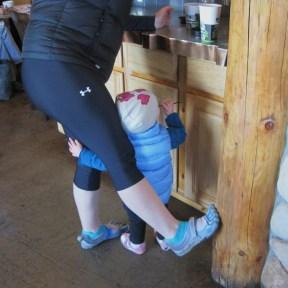mom little girl shoes