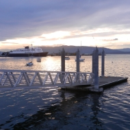 Alaska Ferry and Taylor Dock