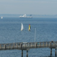 boats on the bay