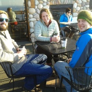 Greg, Lindsey, and Spencer - from Warmbeaches Camp