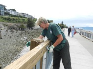 Marty Fixes The Boardwalk