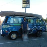 Ryan and his magnificent van