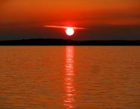 Red Sunset by Karen Molenaar Terrell