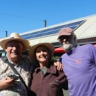 Three Amigos - Kurt, MaryAnne, Dave
