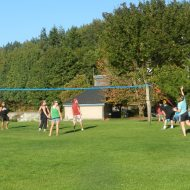 vollyball in the park