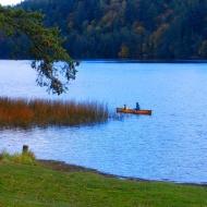 canoe on Padden