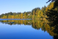 Lake Padden in autumn