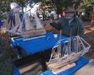 Steve Delaney, master ship-carver
