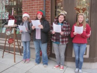 carolers in Bellingham