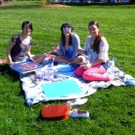 Ashley, Talia, and Sarah