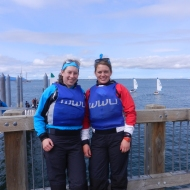 Angela Gossom and Rachel McCrady