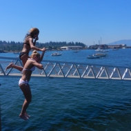 Ashley and Kelsey take the plunge