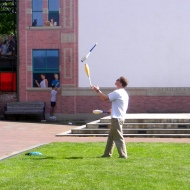 Carter juggling