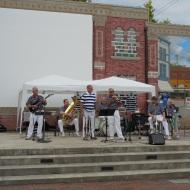 jazz band at Alzheimer Walk