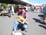Randy and his hurdy gurdy