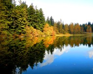 Lake Padden reflection