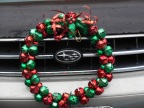 car wreath