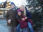 Nathan, Keyla, and Ally