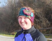 Danielle and her fabulous hat
