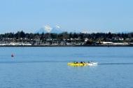 Canadian Coastal Range and crew practice