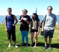 Quinn, Gabby, Sam, and Nathan
