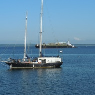 boats on bay