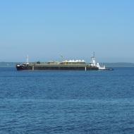 tug and ship