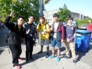 visitors from Japan