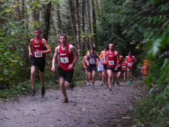 Xander running
