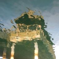 Taylor Dock flipped reflection