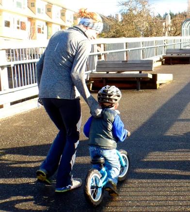 little bike-rider