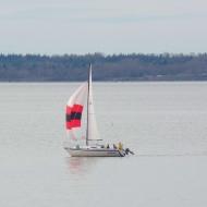sailboat on Bellingham Bay