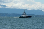 ferry on Bellingham Bay