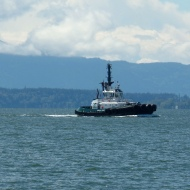 ferry on Bellingham Bay