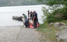 fire training at Lake Padden