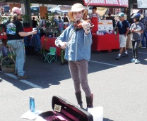 Paige at the Bellingham Farmers Market