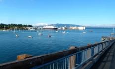 Alaskan Ferry in Bellingham Bay (photo by Karen Molenaar Terrell)