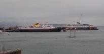 Alaskan Ferries in Bellingham, WA. Photo by Karen Molenaar Terrell.