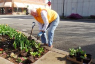 Gerry beautifies Mount Vernon