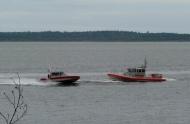 Coast Guard Maneuvers in Bellingham (photo by Karen Molenaar Terrell)
