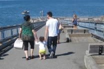 Little Family Holding Hands